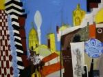Ohne Titel, Öl/Bleistift auf Leinwand, 150 cm x 200 cm, Privatbesitz
