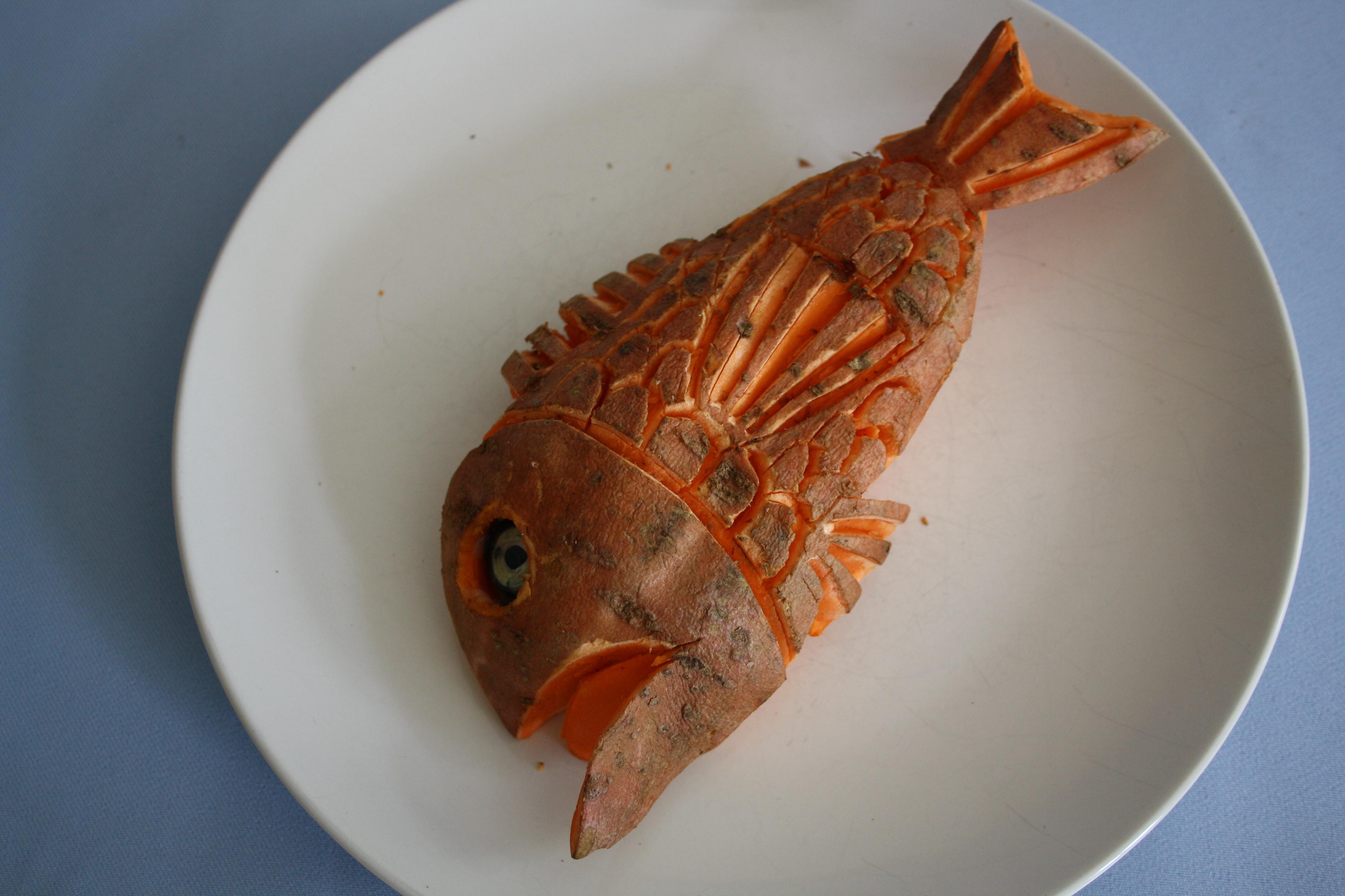 Suesskartoffelfisch