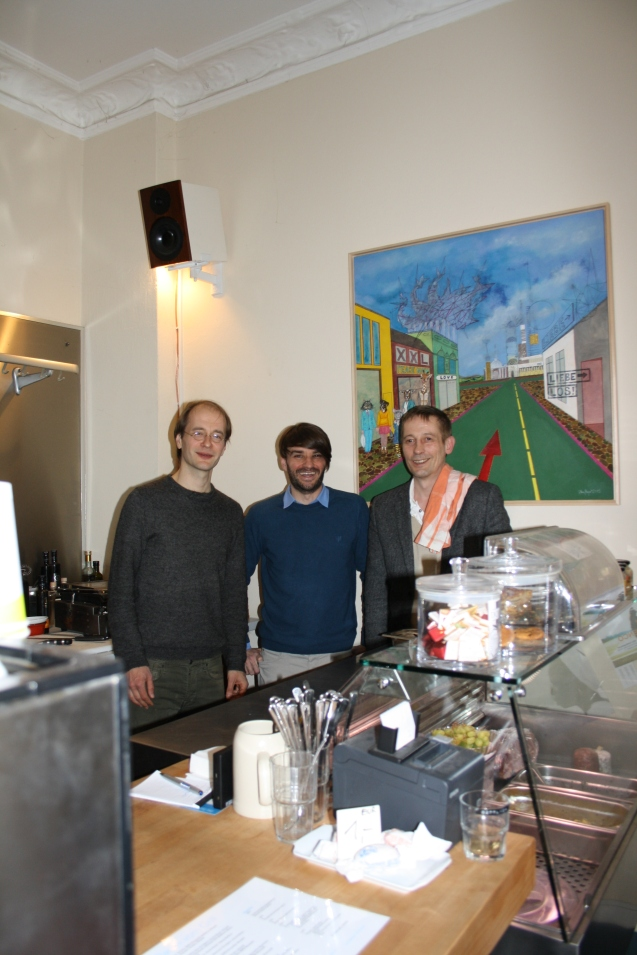 Danke an Christian und Torsten vom Café Göttlich für die gute und unkomplizierte Zusammenarbeit. Ihr findet das GÖTTLICH  in der Tegeler Strasse 23, 13353 Berlin.