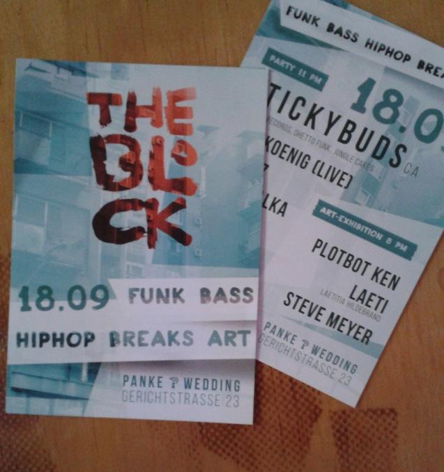 THE BLOCK - Flyer