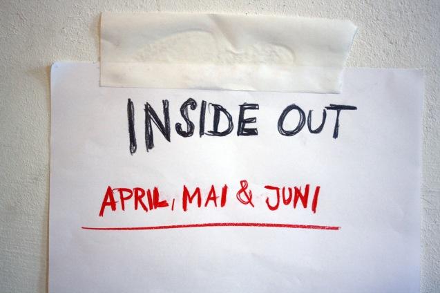 INSIDE OUT im April, Mai und Juni