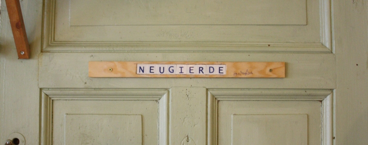 Wort-Spiel-Ort, Wort Nr.: 0008 / Neugierde, Datum: 10.09.2016, Uhrzeit: 16:30, Ort: Cafe Hubert, Tegeler Straße 29a, 13353 Berlin