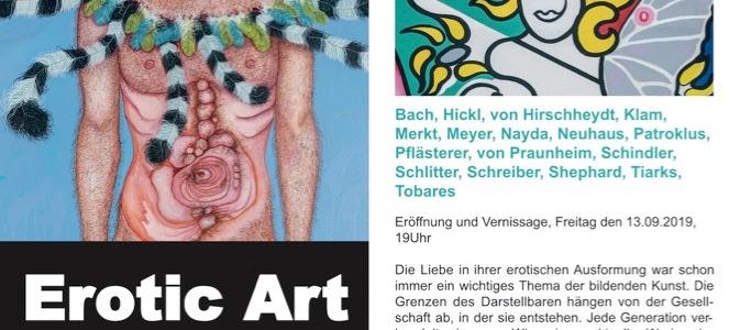 """""""Erotic Art"""" in der Galerie von Hirschheydt"""