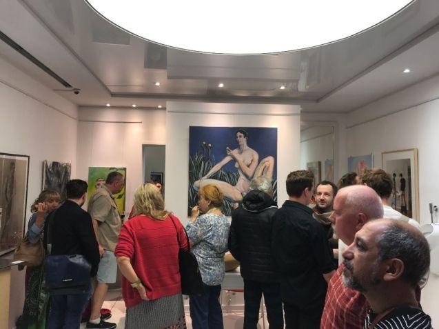 """Vernissage zu der Ausstellung """"Erotic Art"""" in der Galerie von Hirschheydt am 13.09.2019"""