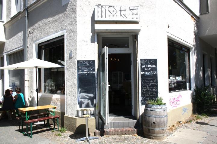 "Café ""Motte"", Nazarethkirchstraße 40, 13347 Berlin"