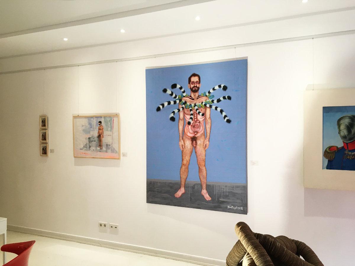 Weihnachtsausstellung 2020 in der Galerie von Hirschheydt