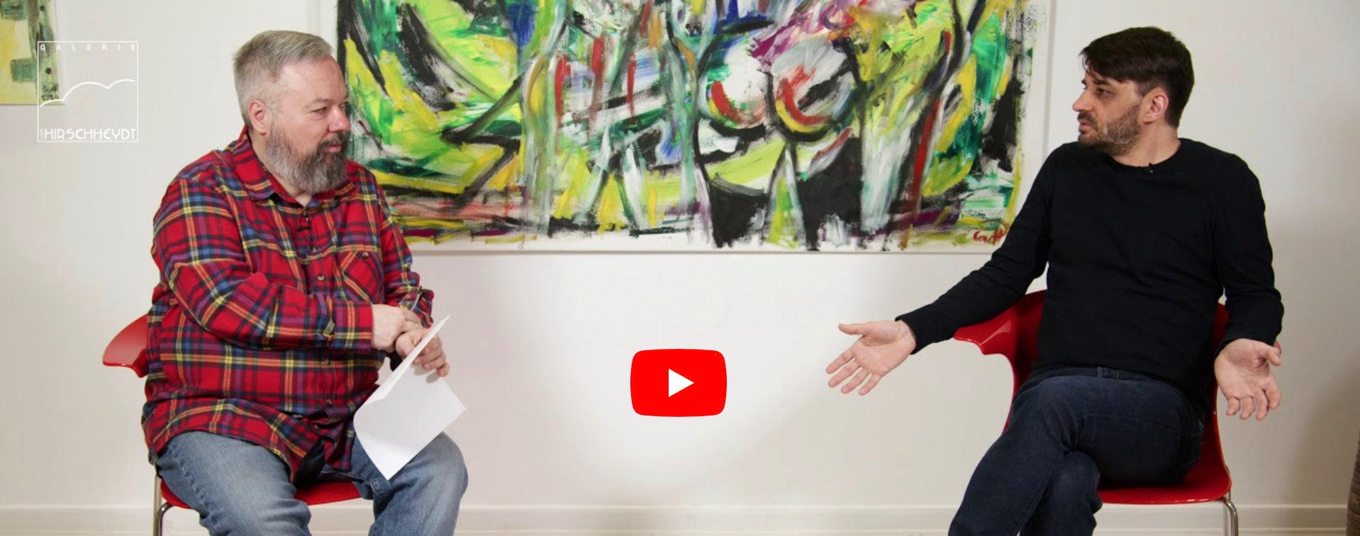 Künstlerinterview Steve Meyer und Dr. Michael von Hirschheydt